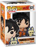Z - Yamcha and Puar Vinyl Figure 531