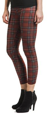 Checked Leggings