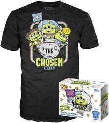 Alien As Buzz (GITD) T-Shirt plus Funko - POP! & Tee