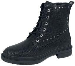 Lisbon Lane Collarless Boot Jet Black