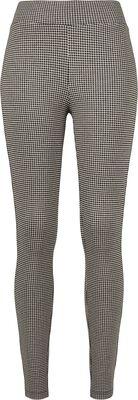 Ladies Vichy Check High Waist Leggings