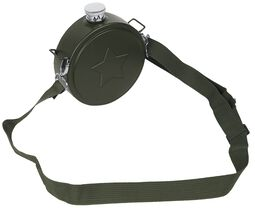 Hip Flask Canteen With Shoulder Strap