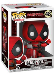 Deadpool on Scooter Vinyl Figure 48