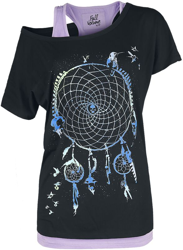 T-shirt with Dreamcatcher Print