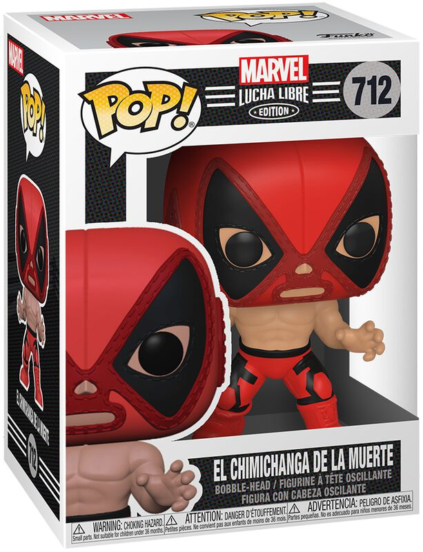 El Chimichanga De La Muerte - Marvel Luchadores - Vinyl Figure 712