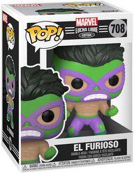 El Furioso - Marvel Luchadores - Vinyl Figur 708