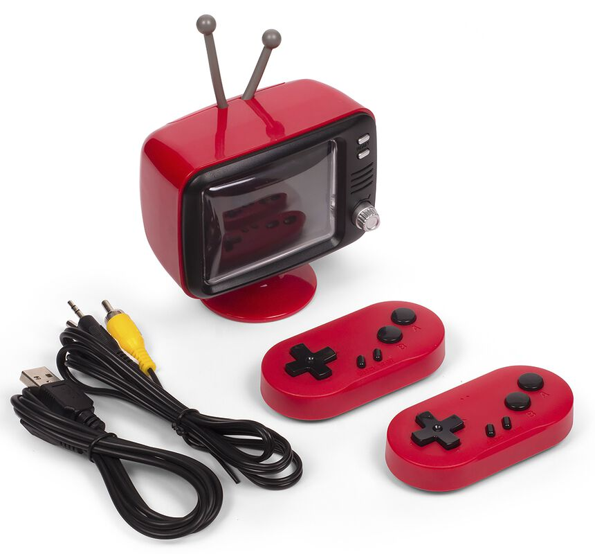Orb Retro Konsole Mini TV mit 2 Funk-Controller