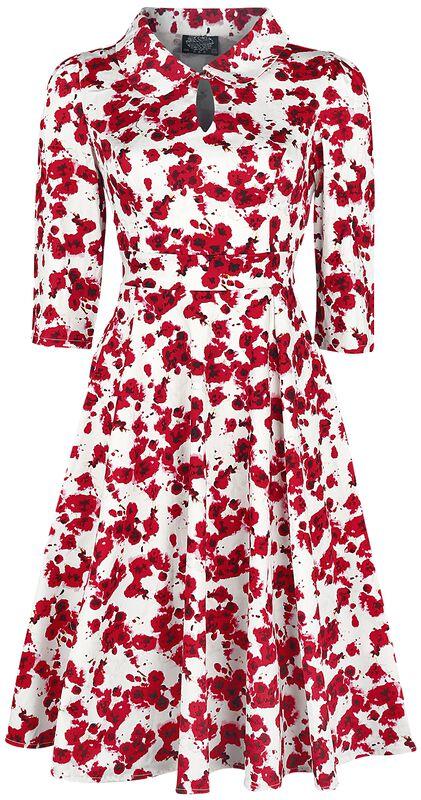 Glamorous Roses Tea Dress