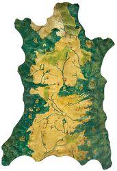 1/1 Replica Map of Westeros