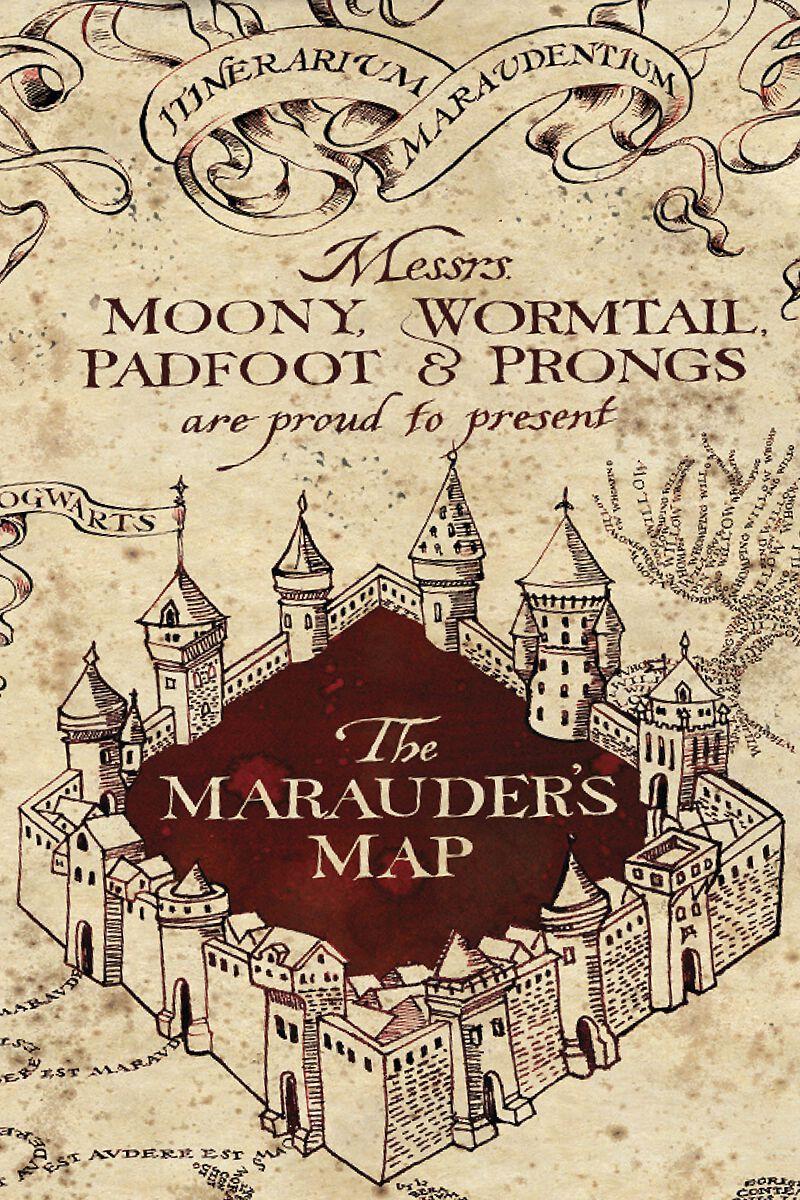 Marauder\'s Map   Harry Potter Bedlinen   EMP