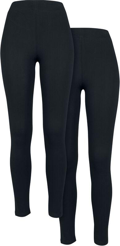 Pre-Pack Ladies Jersey Leggings 2-Pack