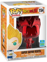 Z- SDCC 2019 - Super Saiyan Vegeta (Red Chrome) Vinyl Figure 154