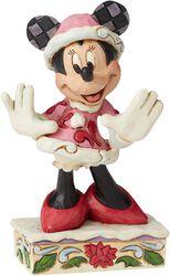 Minnie Mouse Christmas Mini Figurine