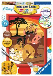 Simba, Timon and Pumba - Paint By Numbers