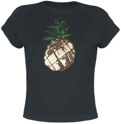 Pineapple Party Crop T-Shirt
