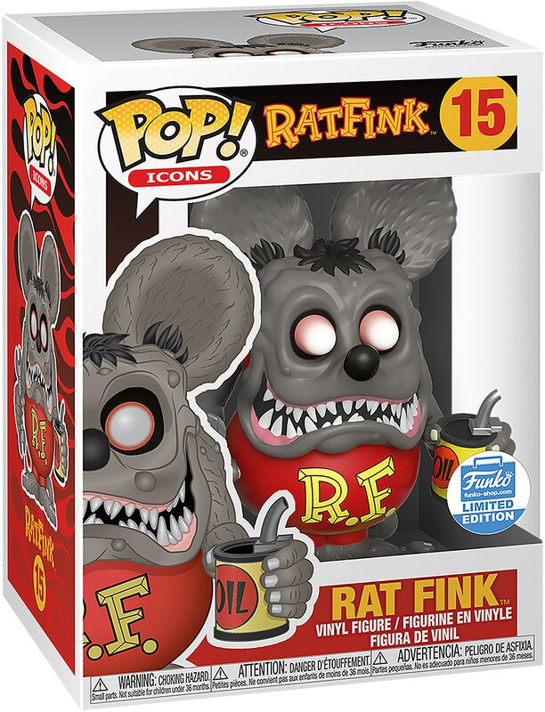 Ad Icons - Rat Fink (Funko Shop Europe) Vinyl Figure 15