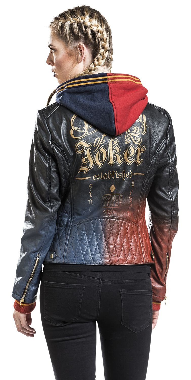 3f5a1ca0737 Harley Quinn - Daddy's Lil' Monster. Leather Jacket. 8 Reviews. Suicide  Squad