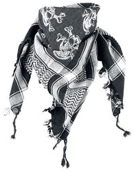 Palestinian scarf Skulls