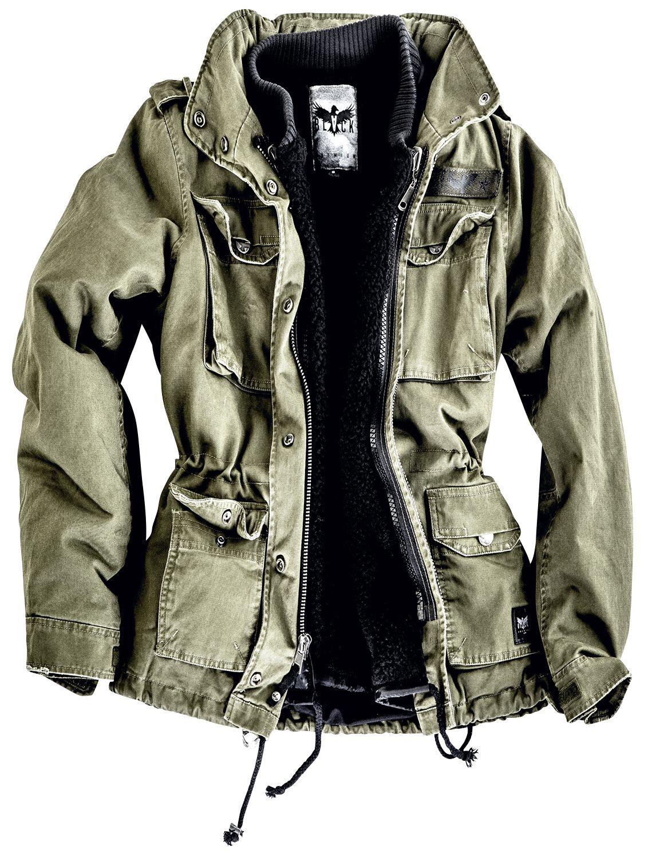 51957336972 Ladies Army Field Jacket