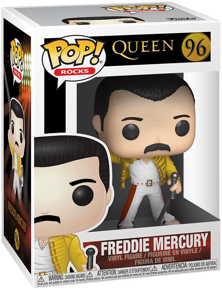 Vinyl Figure Queen 96 Freddie Mercury Rocks Funko Pop