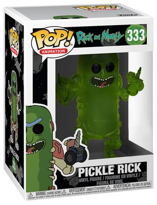 Pickle Rick Vinyl Figure 333