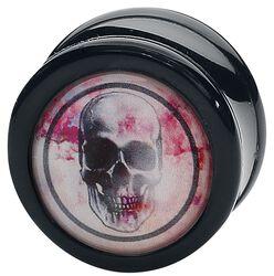 Rose Punch - Skull Black Plug