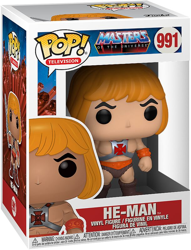 He-Man Vinyl Figure 991