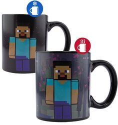 Enderman - Heat-Change Mug