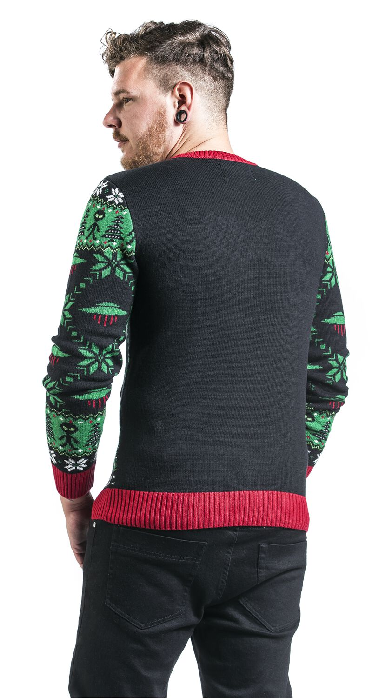 Alien   Ugly Christmas Sweater Christmas jumper   EMP