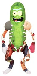 Galactic Plushies: Pickle Rick in Rat Suit (approx 46 cm)