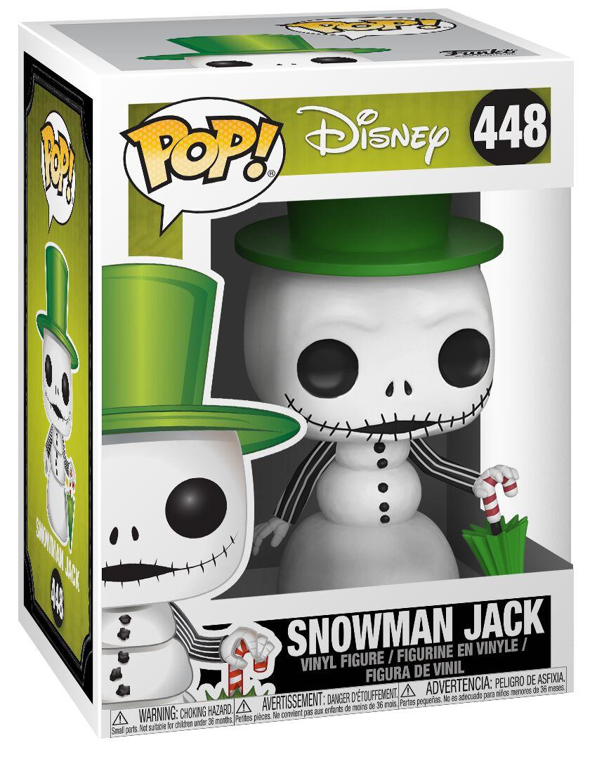 Snowman Jack Vinyl Figure 448 | The Nightmare Before Christmas Funko ...