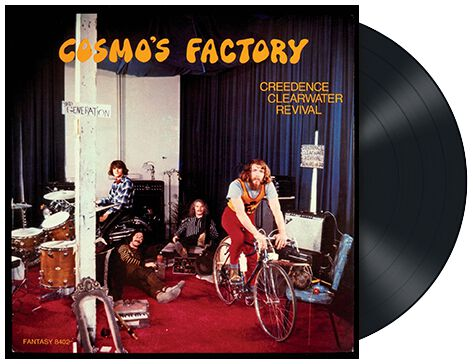 Cosmo S Factory Creedence Clearwater Revival Ccr Lp Emp