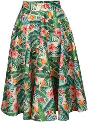 Valentina Tropical skirt - Unreal Red Heads Collaboration