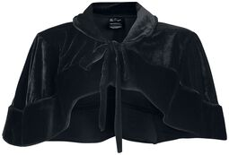 Victorian Bolero Black Velvet