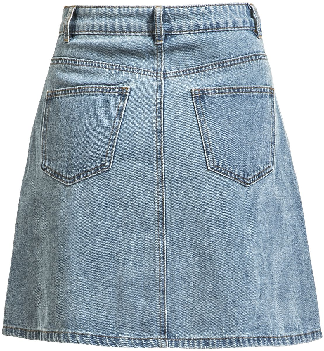 105c9edc9 Sunny Short Denim Skater Skirt | Noisy May Medium-length skirt | EMP