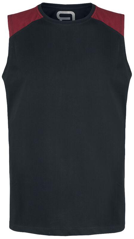 Tank-Top with Raglan Shoulders