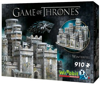 3D Puzzle Winterfell