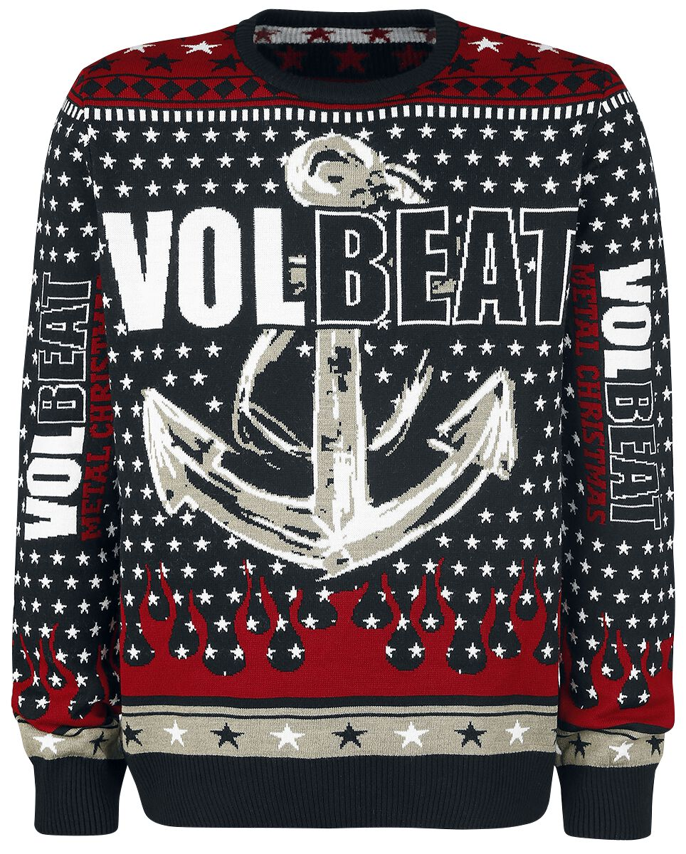 holiday sweater volbeat christmas jumper emp