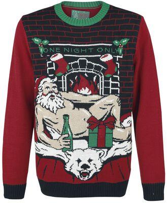 sexy santa ugly christmas sweater christmas jumper emp