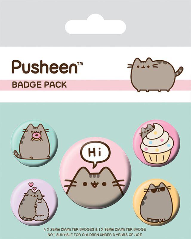 Pusheen Says Hi