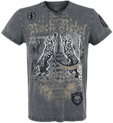 T-Shirt with Tiger Print