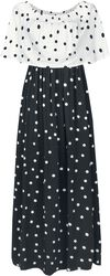 Spotted Maxi Dress