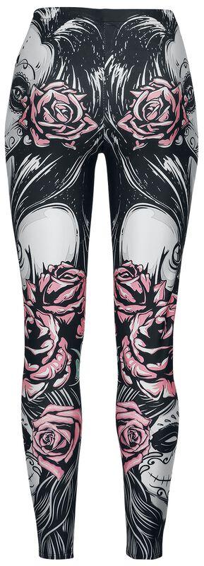 Muerta Roses Leggings