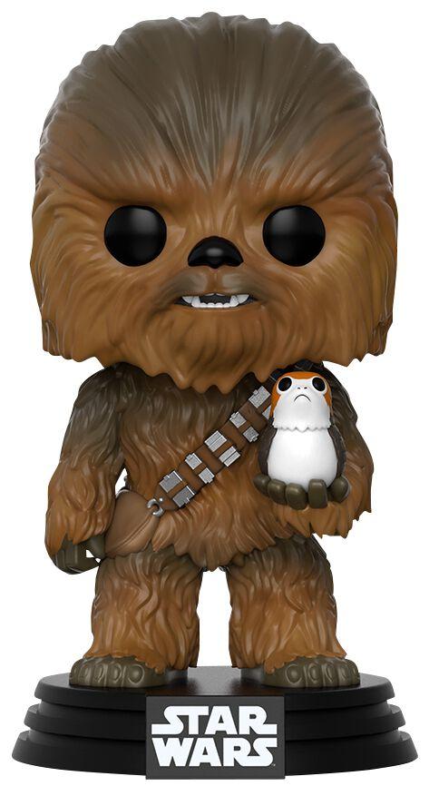 Episode 8 The Last Jedi Chewbacca With Porg Vinyl