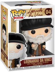 Artists - Leonardo da Vinci Vinyl Figure 04