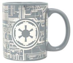 Death Star Surface - Foil Mug