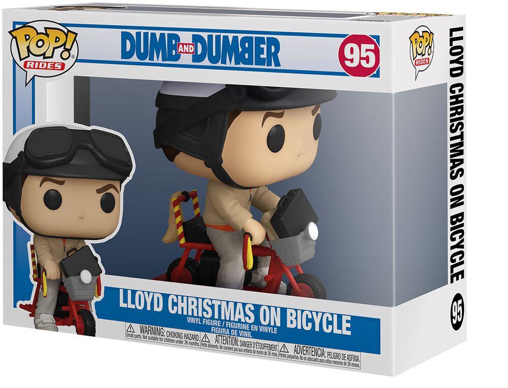 Lloyd Christmas On Bicycle (Pop! Rides) Vinyl Figure 95