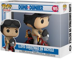 Lloyd Christmas On Bicycle (Pop! Rides) Vinyl Figure 95