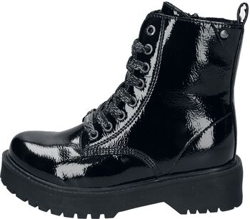Patent PU Leather Boots