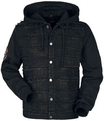 Between-season jacket with used-look details